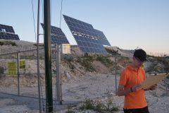 Neues Photovoltaik-Feld bei Drapia