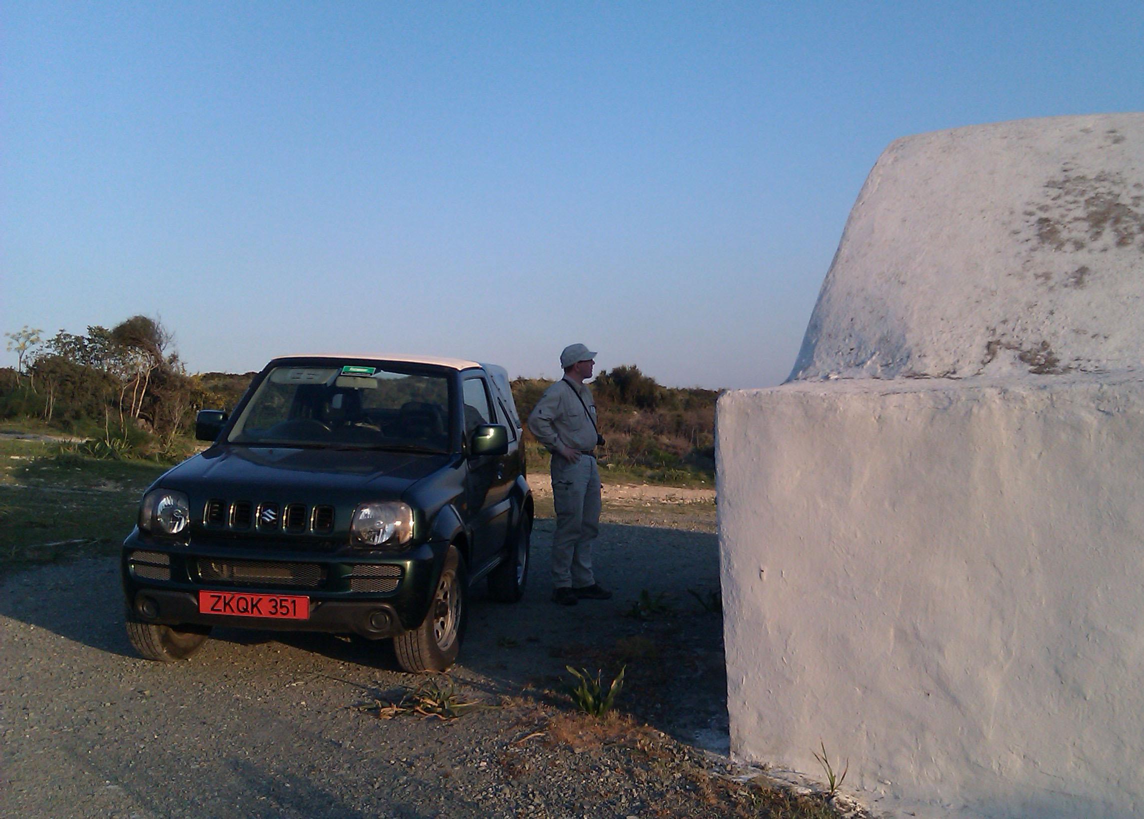 Mit dem Suzuki Jimny über Stock und Stein