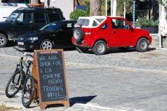 Parkplatz am Troodos-Hotel