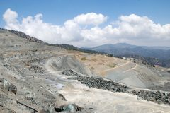 Abraumhalde Amiantos Mines